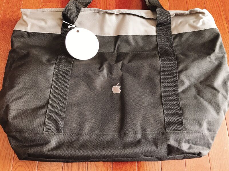Apple Employee Bag - Large Tote, Insulated, Camping, Picnic Promo, New