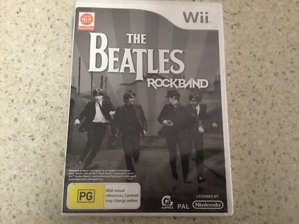Wii The Beatles Rockband