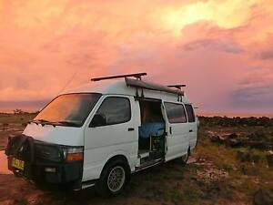 Quality meets Love - 95 Toyota Hiace Commuter Bus (Campervan) Merewether Newcastle Area Preview