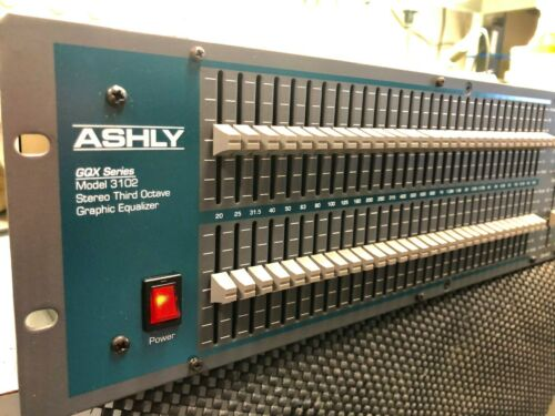 Ashley GQX 3102 Stereo Graphic EQ