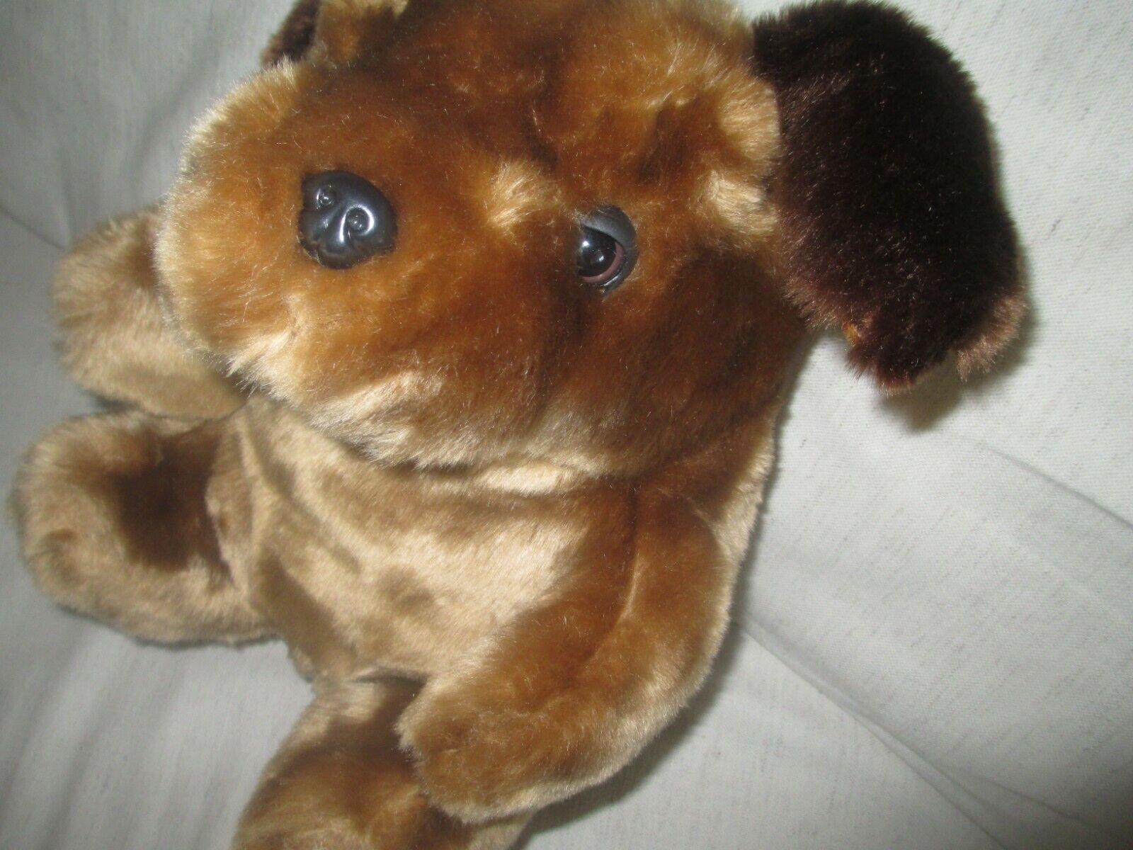 Brown Dog stuffed animal, 12 Inches Tall