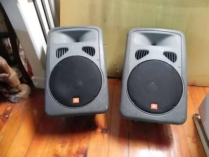 JBL Eon Powered Speakers