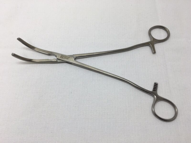 AESCULAP MB354R HYSTERECTOMY/UTERINE CLAMP 9-1/2""