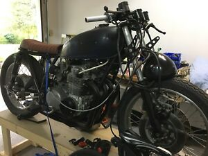 1972 Honda CB500 build