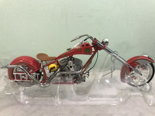 Joy Ride OCC American Chopper Die Cast 1/10 FIRE BIKE