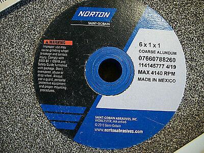 Norton Grinding Wheel 6 X 1 X 1 Aluminum Oxide B5