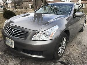 2007 Infiniti G35x Luxury with Navigtion and tech package