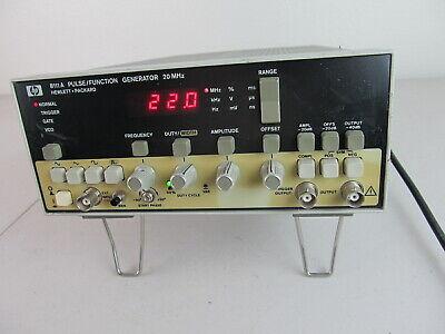 Hp Hewlett Packard Agilent Keysight 8111a 20 Mhz Pulsefunction Generator