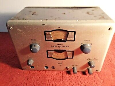 Rca Signal Generator--tubed-type Wa-44a