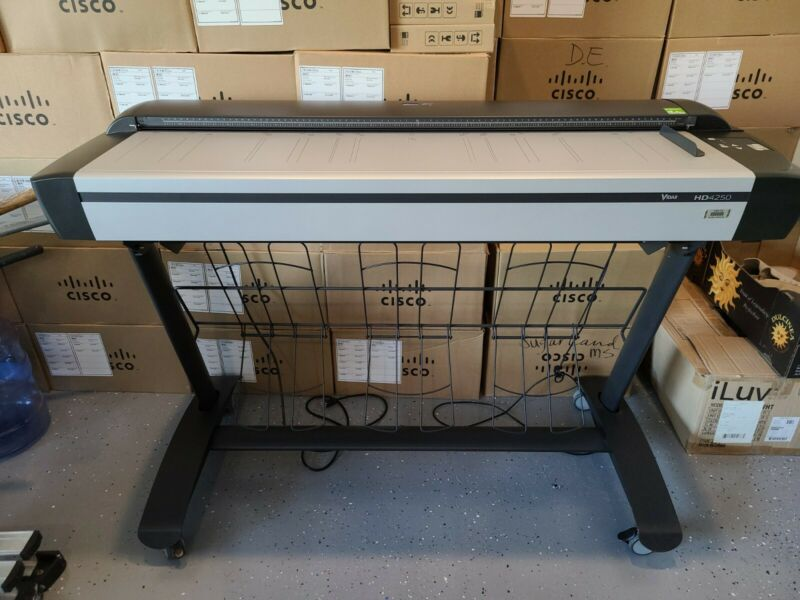 CONTEX HD4250 PLUS 42 inch LARGE FORMAT SCANNER/EXCELLENT CONDITION USB & STAND