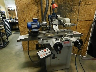 Toolmex Idod Tool Cutter Grinder Great Condition Newly Wired