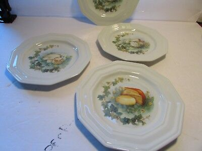 Beautiful Made in France Set of Four 4  8