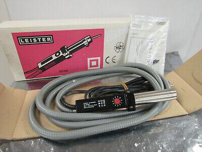 Leister Welder Heat Air Gun 1400w 220v European Plug Missing Tip Nib