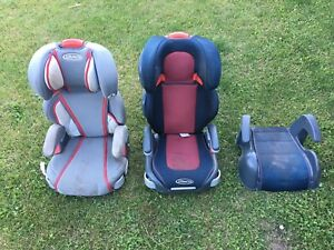 3 Kids Children's Booster Chair Seats