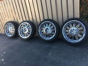 24 inch rim with tires