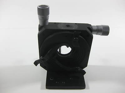 Micro-controle Xy Manual Optical Positioner -- Used --