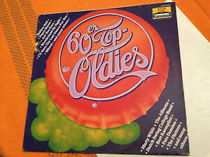TOP-OLDIES-60s-12-Orig-Hits-1980s-GERMAN-Vinyl-Lp-Karussell-Label-VG-NM