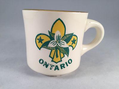 Vintage Boy Scouts Mug Ontario