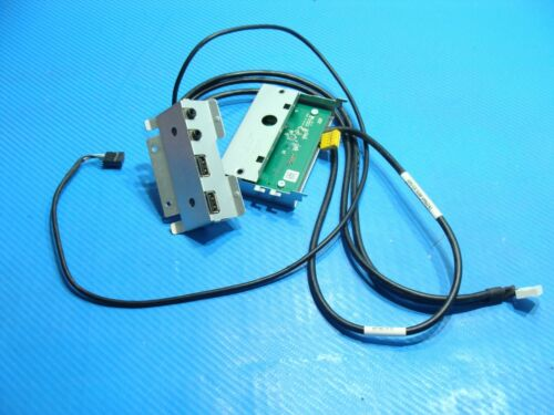 Dell Xps 8700 Oem Front Usb Audio I/o & Card Reader Board W/cables 7844f Nhg51