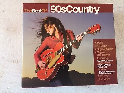 Best Of 90's Country [No Box] by Various Artists (CD, Dec-2007,