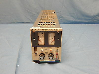 Kepco Ate 75-1.5 0-75v 0-1.5a Adjustable Dc Power Supply Load Tested