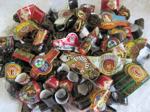 Cigar Bands Lot 170+  Many makers colorful crafts CIGAR WRAPPERS
