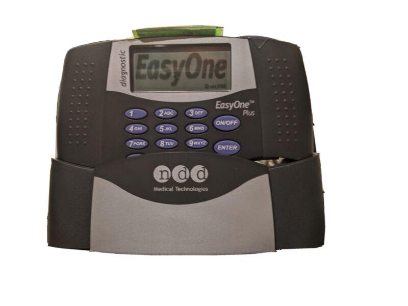 EasyOne Plus Diagnostic Spirometer With Cradle No Spirettes