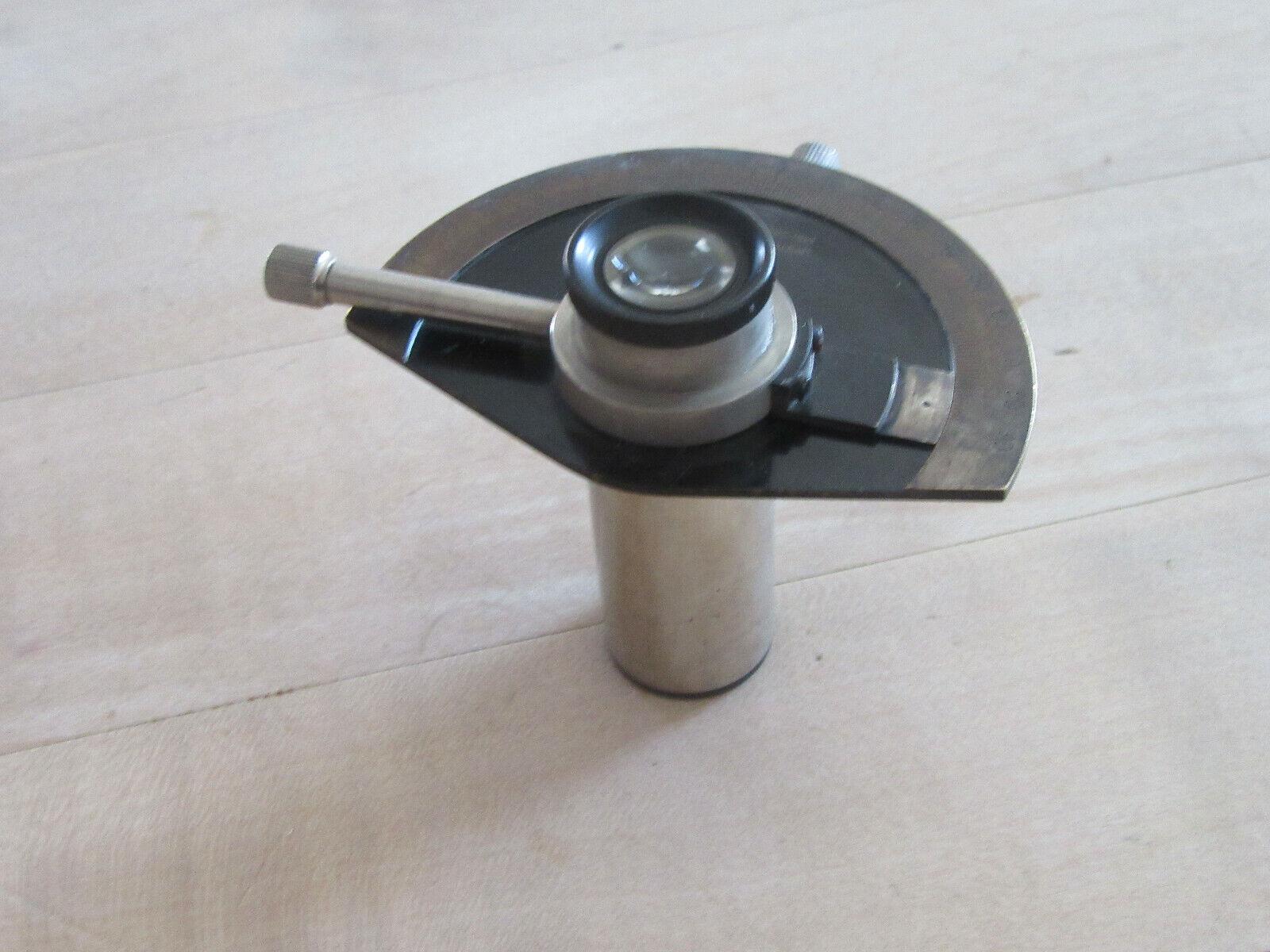 antikes Mikroskop Okular Spezialokular Steckdurchmesser 23,2 mm Seltenheit