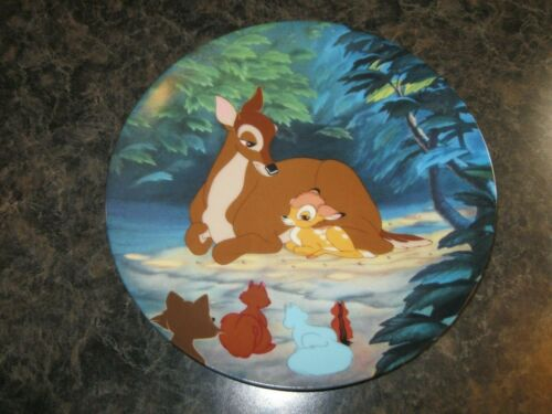 """Knowles Collector Plate ~ Disney BAMBI """"Hello, Little Prince"""" 1992"""