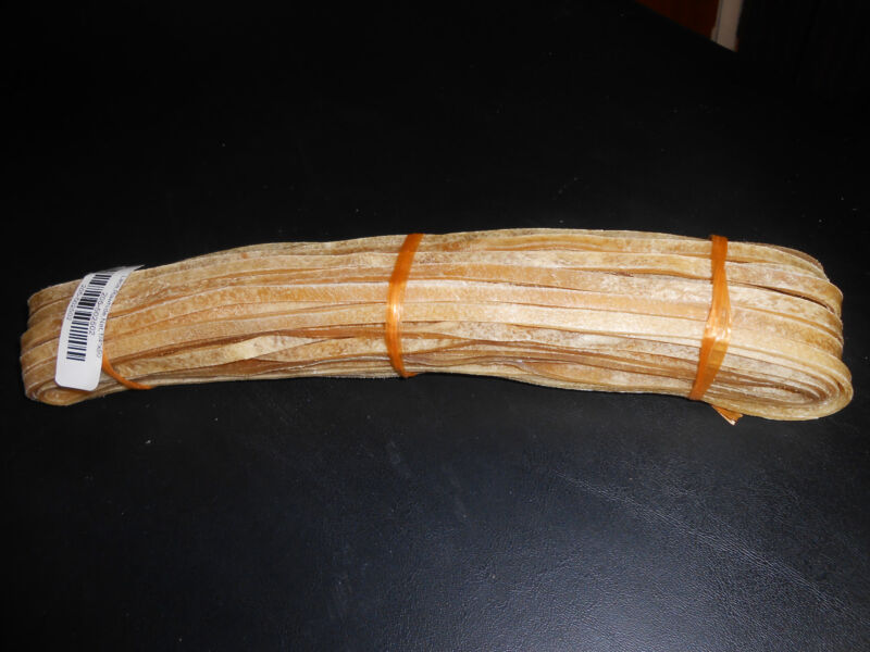 (1) Best Ever Super Premium Rawhide Lacing 1/4 inch by 50 Foot Long!