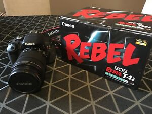 Canon Rebel T4i 18-135