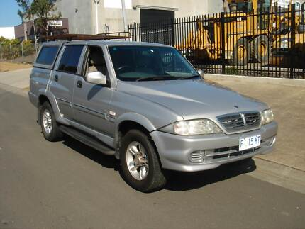 2005 Ssangyong Musso Ute