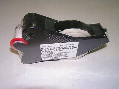 New Brady Label Maker Supply Tape Cartridge White On Black B580 1.125 X 90