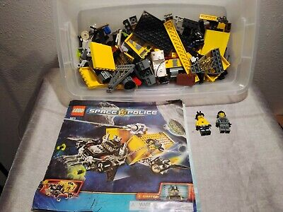 Vintage Lego Space Police Set # 5972 90% Complete With Manual and mini Figures