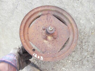 Farmall Ih Little Genius Pull Type Plow Rear Rim For Tire 12 X 3