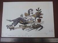1970s Designer Eames ? Chair Pen & Ink Orig 20th C Illus,bill Hewison, Art Edit -  - ebay.co.uk
