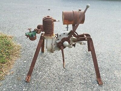 vintage Cleveland motorcycle single cylinder engine hand clutch transmission HD