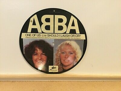 "ABBA ‎– One Of Us - Picture Disc 7"" Vinyl Single 1981 - Epic ‎– EPC A 11-1740"