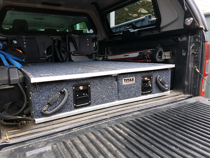 Rear 4x4 cargo drawers