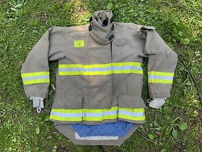Morning Pride Fire Fighter Turnout Jacket 42 2935 34 Bunker Gear 2753