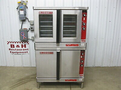 Blodgett Double Stack Deck Electric Full Size Convection Oven Mark-v-111