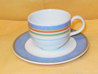 V&B VILLEROY & BOCH - TIPO VIVA - Kaffeetasse / - Tasse + Teller UT d~14cm MEHR  online kaufen