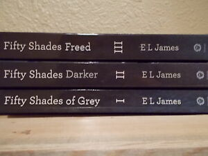 50 Shades of Grey ,all 3 Books