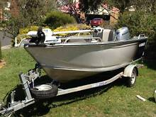 Seajay Ranger 4.4 2013 Tiller Aluminium Boat sea jay Campbellfield Hume Area Preview