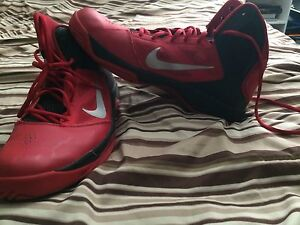 Size 11 Nike basketball shoes in good condition