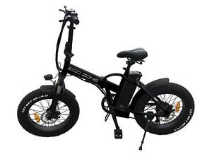 NEW FOLDING FAT TYRE ELECTRIC BIKE, BICYCLES.