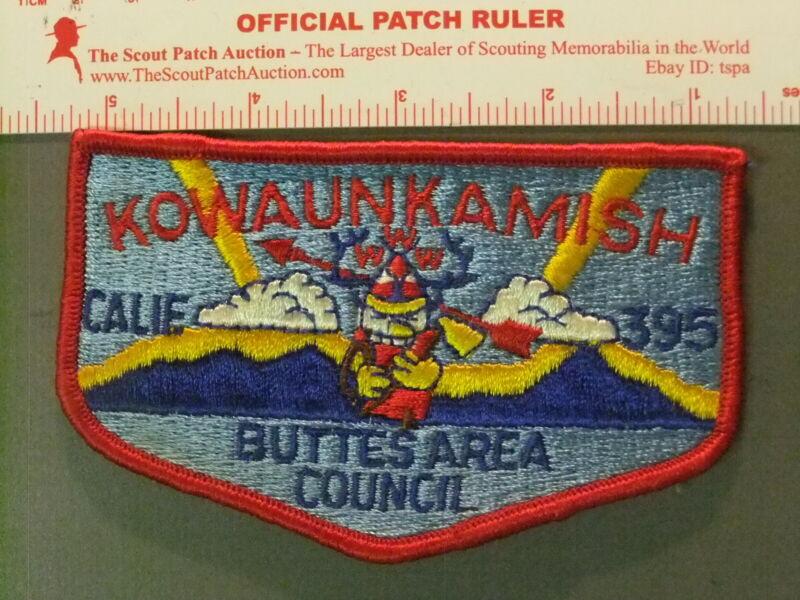 Boy Scout OA 395 Kowaunkamish flap 6700JJ