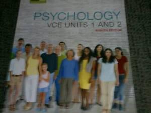 Psychology VCE units 1&2  8th Ed