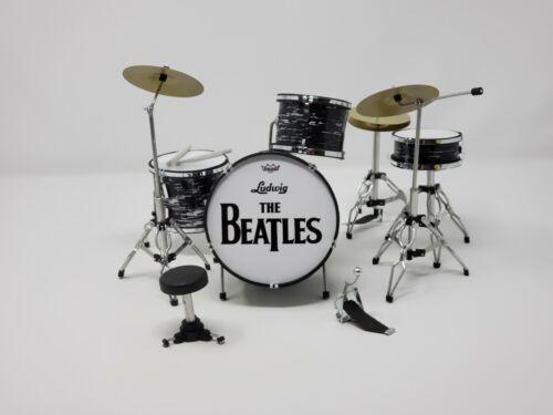 Miniature drum set LUDWIG BEATLES JOHN LENNON RINGO STARR. Mini drum set