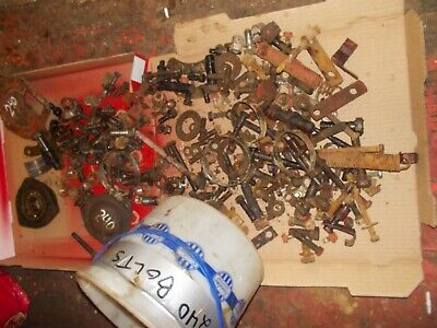 Farmall International 240 Rc Tractor Box Of Bolts Nuts Parts Pieces